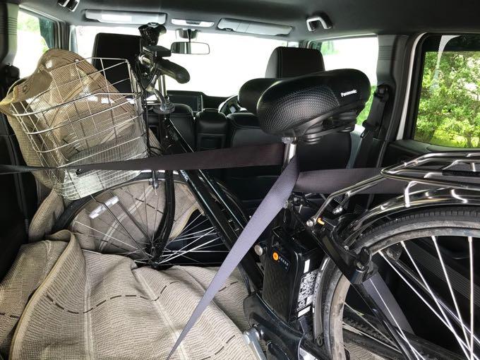 n box 自転車積める